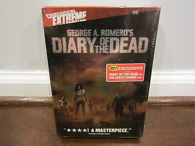 DIARY OF THE DEAD (Best Buy Exclusive) (Includes DVD and Book)  SEALED