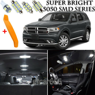 White LED interior lights package kit for 2011-15 Charger 11 pcs 5050 series SMD