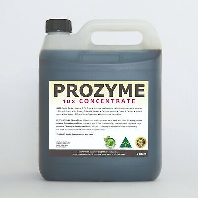 ProZyme 4L - 10x Concentrate (Septic Tank Treatment) [ +24 MONTHS SUPPLY ]