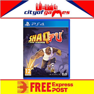Shaq Fu A Legend Reborn PS4 Game New & Sealed Free Express Post In Stock
