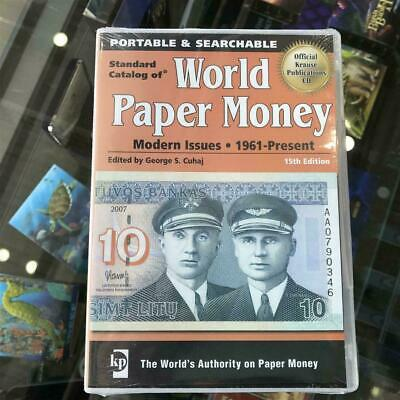 New KRAUSE 15th Edition Standard Catalogue of Paper Money CD/DVD