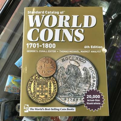 KRAUSE 2014 World Coins Catalogue 1701-1800 6th Editon Softcover