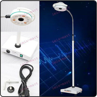 36W 12 LED Mobile Surgical Medical Exam Light AC Shadowless Lamp KD-2012D-3