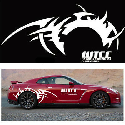 White Wheel eyebrow flame stickers decals decoration stripe decal FOR CAR SUV