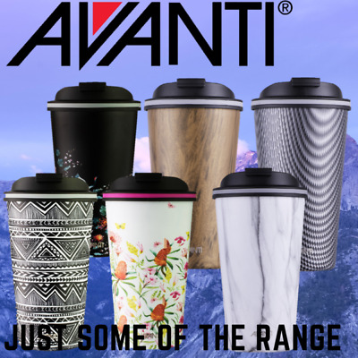 Avanti Go Cup 410ml Double Wall S/Steel Insulated Cup Art