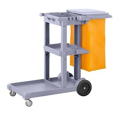 Cleaning Trolley Hotel Janitor Cleaning Supplies Laundry Bags Housekeeping
