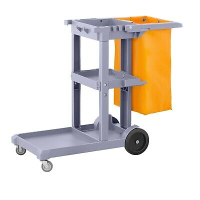 Cleaning Trolley Service Trolley Hotel Janitor Cleaning Supplies Laundry Bags