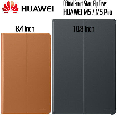 Original Official Smart Leather Case Flip Cover for Huawei MediaPad M5 8.4 10.8""