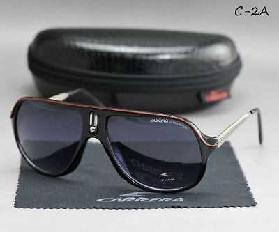 2019 Aviator Men&Women Retro Sunglasses New Unisex Fashion Carrera Glasses C-2