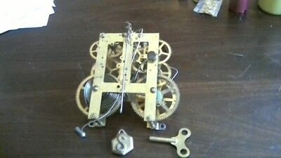 Antique sessions clock movement parts only