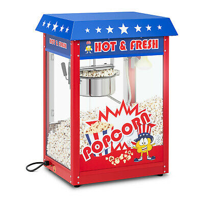 Machine A Pop Corn Vintage Usa; Plaque Chauffante; Popcorn Maker 5 Kg Par Heure