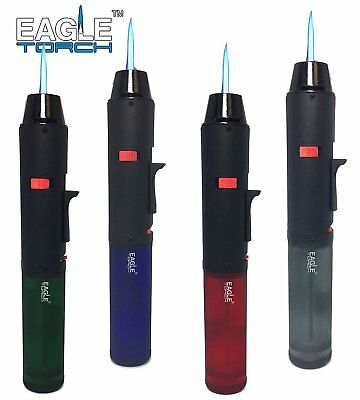 2-Pack Eagle Jet Torch Jumbo Gun Pen Torch Lighter Butane