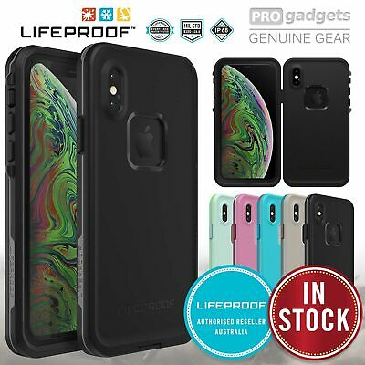 iPhone XR XS Max X Case Genuine Lifeproof Fre Shock Water proof Cover For Apple