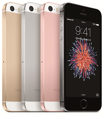 Apple iPhone SE 16GB 32GB 64GB Grey Rose Gold Silver Unlocked Smartphone UK Sell