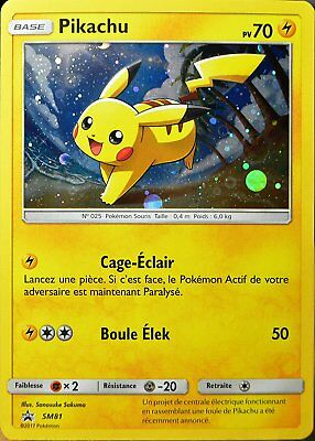 Pokemon - Pikachu - Sm81 - Legendes Brillantes 3.5 - Carte Promo - Français