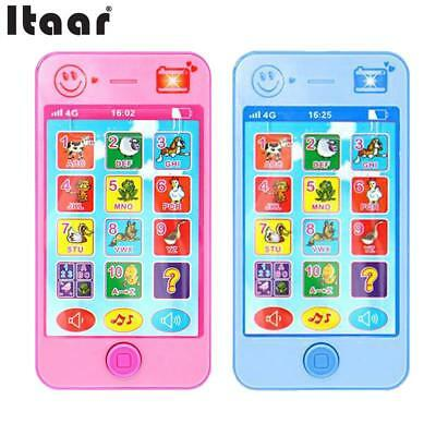 Kids Simulator Music Toy Cell Phone Touch Screen Educational Learning Child Toys