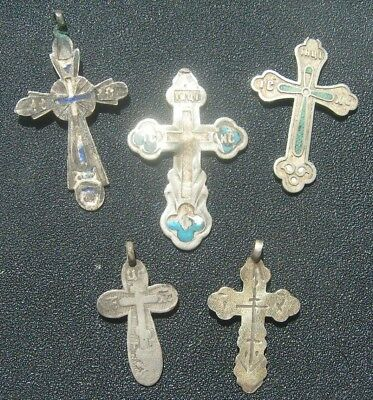 Silver crosses 84. Imperial Russia.5 pieces