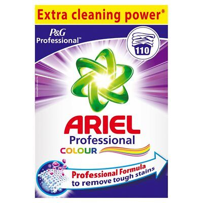 Ariel Colour Washing Powder 110 Wash 7.15Kg Professional Formula