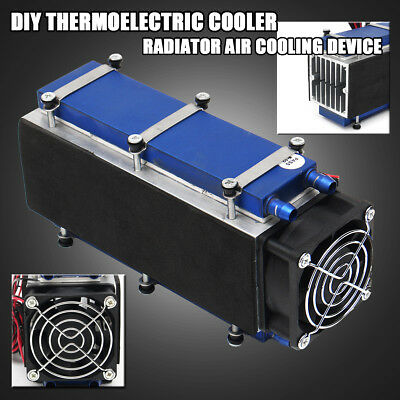 US 8-Chip 576W TEC1-12706 12V Thermoelectric Cooler Radiator Air Cooling Device