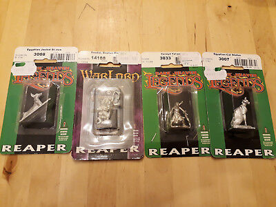 4 Reaper Miniaturen Tabletop in OVP
