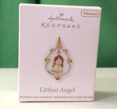 2011 Hallmark Miniature ornament, Littlest Angel, New in Box