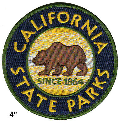"""California State Parks - 4"""" Uniform Patch - State Park Rangers"""