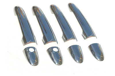 Mercedes Sprinter VW Crafter Chrome 4 Door Handles Cover Trim Set 2006 On