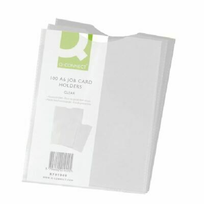 Q-Connect A6 Card Holder (Pack of 100) KF01949 [KF01949]