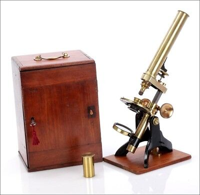 Antique English Compound Microscope. Made Circa 1880