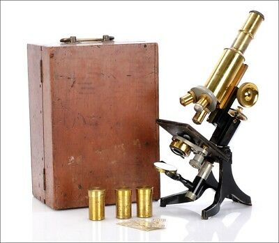 Antique Swift & Son Microscope. England, Circa 1920