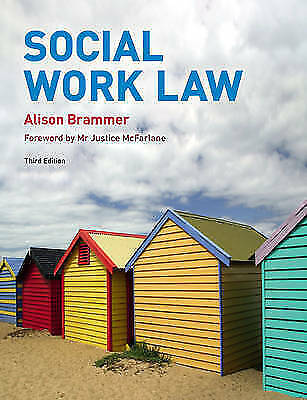 Brammer, Ms Alison, Social Work Law 3rd edition, Very Good Book