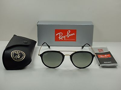 d95881b88d Ray-Ban Sunglasses Rb4253 601 71 Black   Gold grey Gradient Lens 50Mm