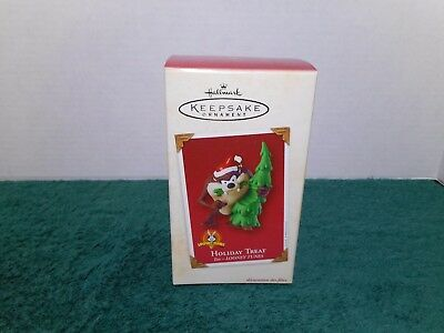 Hallmark 2002 Holiday Treat Taz Looney Tunes New In Box