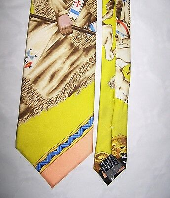 "Cravatta ""gianni Versace"" 100% Tie Made In Italy Vtg 90  Rare"
