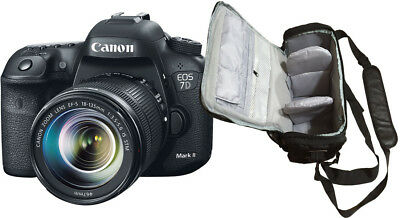 NEW Canon 7D Mark II + EF-S 18-135mm STM + KamKorda Bag - UK NEXT DAY DELIVERY