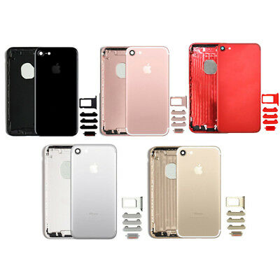 iPhone 7 Back Housing Cover Mid Frame With Small Parts