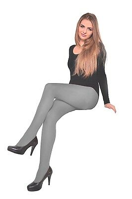 **REDUCED** Luxury Light Grey Opaques UltraCover Tights/Pantyhose - 40 denier