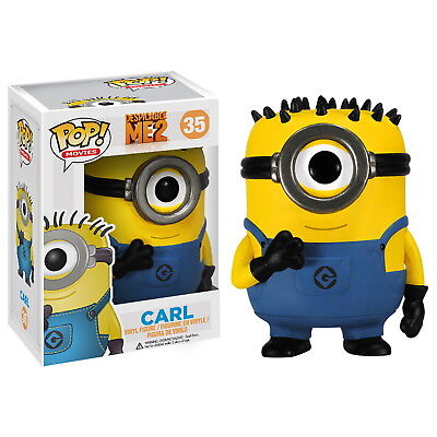 Pop! Movies: Despicable Me 2 - Carl Figure [Brand New]