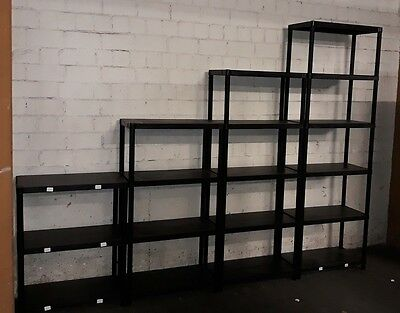 Storage Cellar Shelf fachbodenregal Bookcase Plastic Shelf Stacking Rack