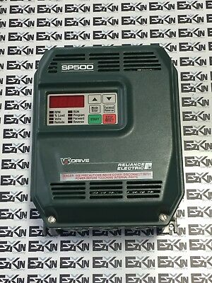 Reliance  Electric Sp500 Vs Drive 1Su41002 2Hp Input 380-460Vac 4.2A 3Ph As Is