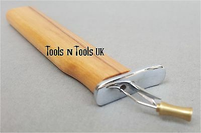 Beach Wood Knotting Tool Consistence Knots Beads Jewellery with Instruction Pic