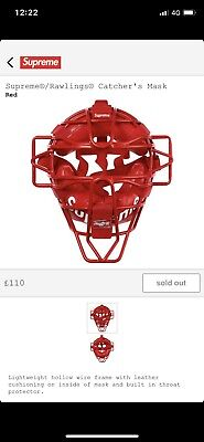 Supreme Rawlings Catchers Mask CONFIRMED ORDER
