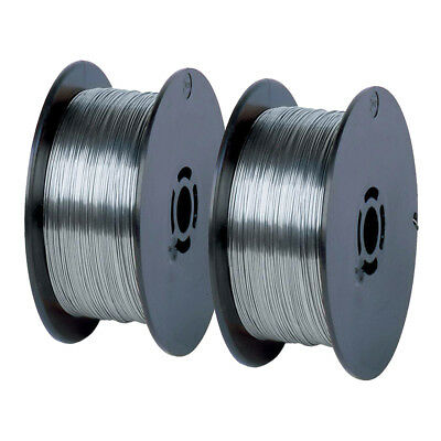 (2 Coils x 2 lbs) .035 Inch E71T-GS Flux Cored Gasless Welding Wire - 4 Pounds