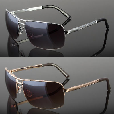 New Men's Classic Sunglasses Metal Driving Glasses Aviator Outdoor Sports UV400