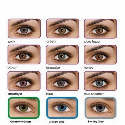 Color Contact Lenses *Lentilles de couleur* 1 year Fresh (USA) 100% SATISFACTION
