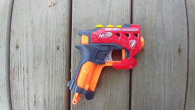 Modified Nerf Bigshock Mod Fires Rival Rounds & MEGA Darts