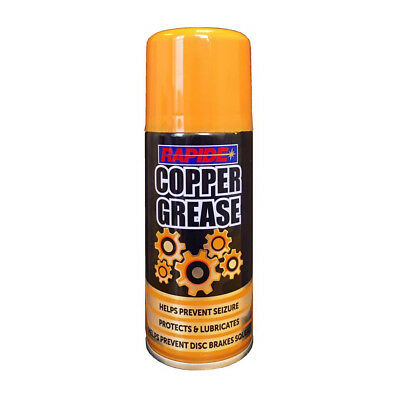 Copper Grease 200ml Spray Can Anti Seize High Temperature Car Brakes