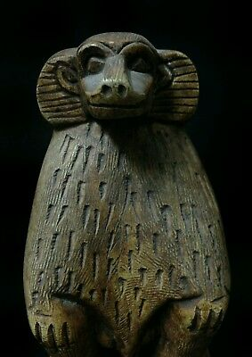 Rare Antique Ancient Egyptian statue of Baboon