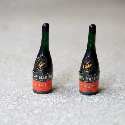 "2 x Mini Prop Bottle Champagne For 1//6 Scale 12/"" Action Figure 1:6 Model HT"