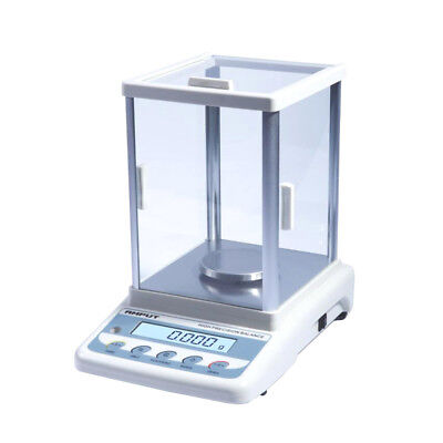 Precision Lab Analytical Balance Digital Jewelry Scale 100g/200g/300g 0.001g 1mg